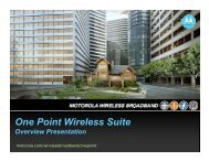 One Point Wireless : Lay Peng - Home - Wireless Network Solutions