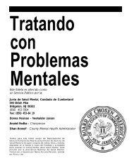 Tratando con Problemas Mentales