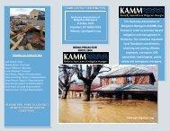 KAMM Brochure (PDF) - Ky Association of Mitigation Managers
