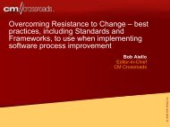 Overcoming Resistance to Change - NY SPIN