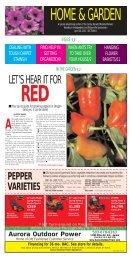 PEPPER VARIETIES - Clackamas County Master Gardeners