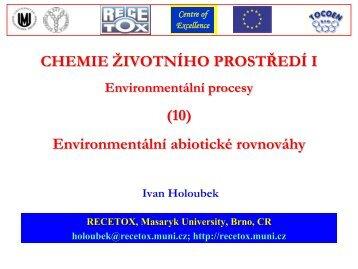 Centrum pro výzkum toxických látek v prostředí - Masaryk University