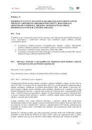 Příloha č. 5 - Centrum pro výzkum toxických látek v prostředí