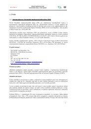 Část 1. - Centrum pro výzkum toxických látek v prostředí
