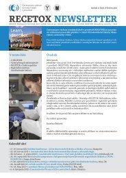 Přečíst newsletter - Centrum pro výzkum toxických látek v prostředí