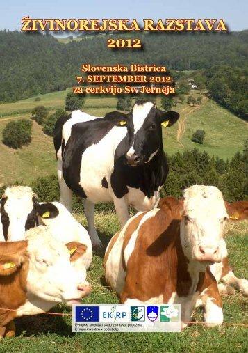 ŽIVINOREJSKA RAZSTAVA 2012 - KGZ Ptuj