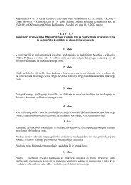 Na podlagi 14. in 15. člena Zakona o državnem svetu (Uradni list RS ...