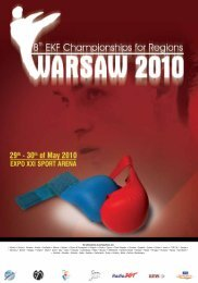 European Championships for Regions (Warsaw, Poland)