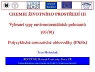 na PAHs - Centrum pro výzkum toxických látek v prostředí - Masaryk ...