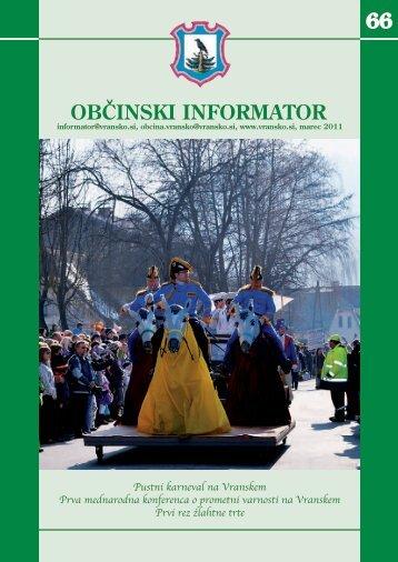 Obcinski informator st. 66 - Občina Vransko