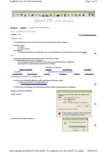 Version pdf imprimable - Shoreline
