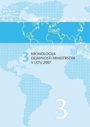 3. Kronologija dejavnosti ministrstva v letu 2007 - Ministrstvo za ...