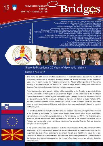 Newsletter April 2012 start