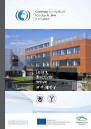 propagační brožura 2012 - Centrum pro výzkum toxických látek v ...