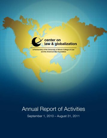 Annual Report of Activities - American Bar Foundation