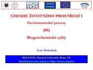 6 Biogeochemické cykly - Centrum pro výzkum toxických látek v ...