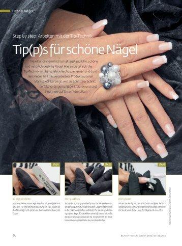Tip(p)s für schöne Nägel - NAIL INTERNATIONAL by Marlise K