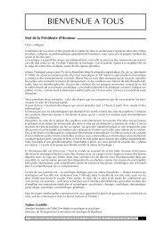 2011 - Nantes - 4es Assises Françaises de Sexologie et - FF3S