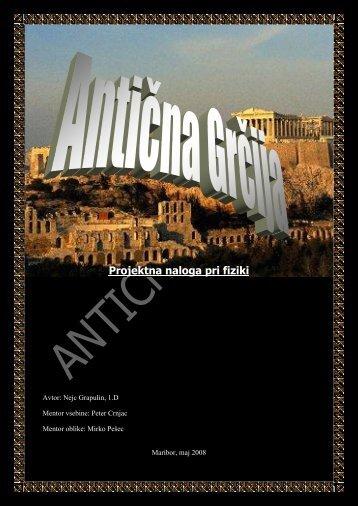Antična Grčija