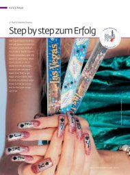 Step by step zum Erfolg - NAIL INTERNATIONAL by Marlise K
