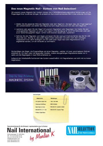 Magnetic System - NAIL INTERNATIONAL by Marlise K