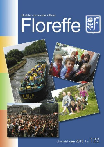 Bulletin communal de juin 2013, n°122 (pdf 1Mo) - Floreffe