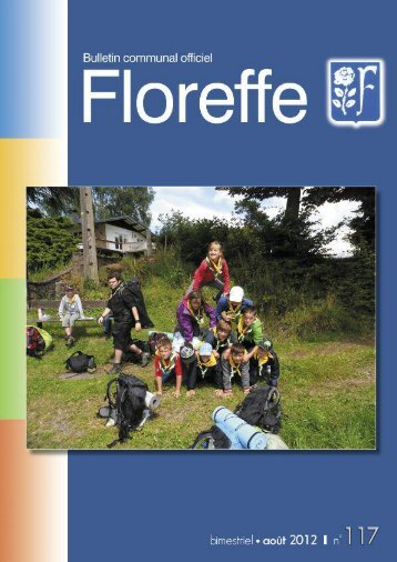 Bulletin communal d'août 2012, n°117 (pdf 1,40Mo) - Floreffe
