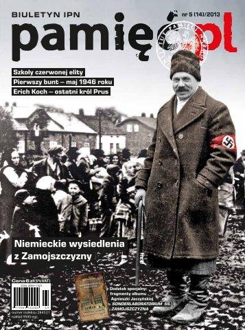 Pamięć.pl 5/2013 - Archiwalny serwis Instytutu Pamięci Narodowej