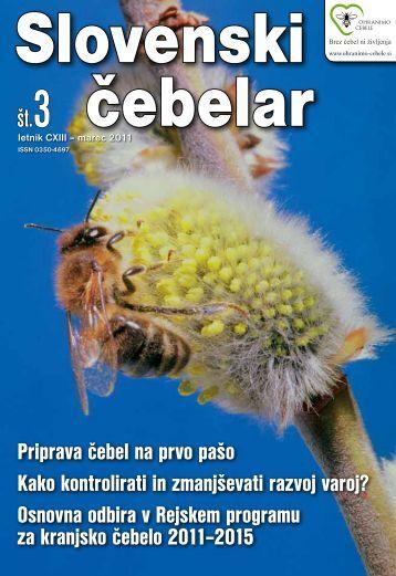 Priprava čebel na prvo pašo Kako kontrolirati in zmanjševati razvoj ...