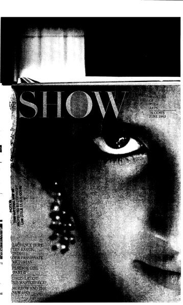 Show-A Bunny's Tale-Part Two-June 1963