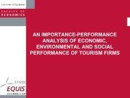 an importance-performance analysis of economic, environmental ...