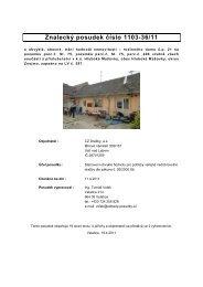 znalecký posudek.pdf - CZ Dražby