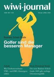 Golfspieler sind bessere Manager. - WiWi-Journal