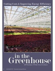 Energy Efficiency in the Greenhouse - Nexus Corporation