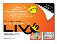 Webcasts White Papers Video Chats - Physicians Practice
