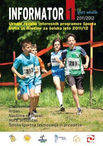 Informator I 2011/2012 - Åport mladih