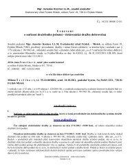 U s n e s e n í o nařízení dražebního jednání - elektronická dražba ...