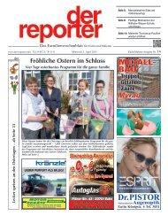 der reporter - Das Familienwochenblatt für Eutin und Malente 2015 KW 14