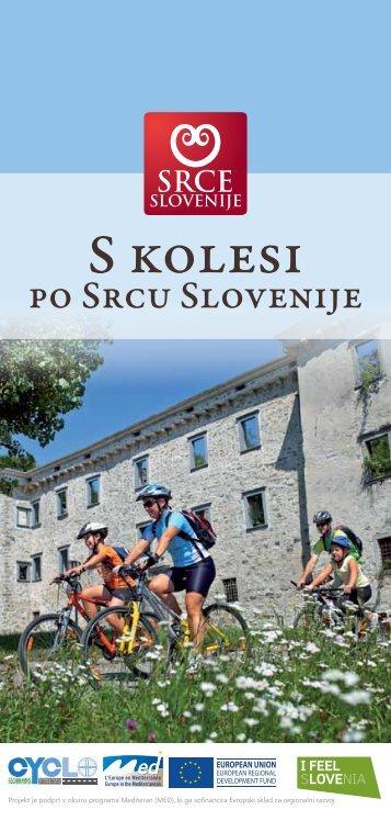 S kolesi po Srcu Slovenije, 2012 - Razvojni center Srca Slovenije