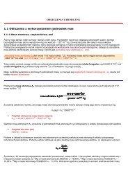 Obliczenia z chemi. - Of.pl