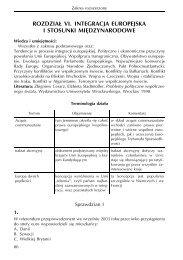 Przykładowe ćwiczenia i zadania