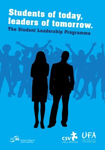 Students of today, leaders of tomorrow. - University of the First Age