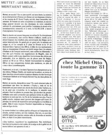 chez Michel Otto toute la gamme '81 - bikesnplanes
