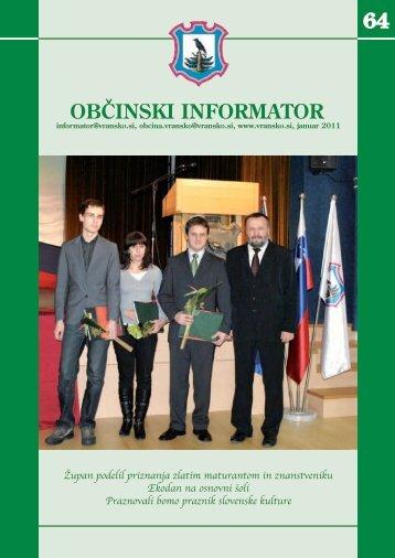 Obcinski informator st. 64 - Občina Vransko