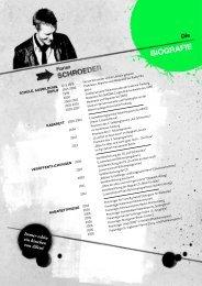 Biografie - Florian Schroeder