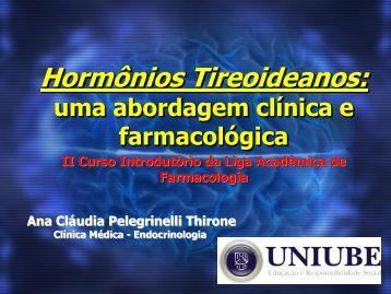 Palestra Hormônios Tireoideanos - Uniube