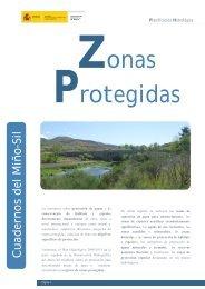 Zonas Protegidas - Confederación Hidrográfica Miño Sil