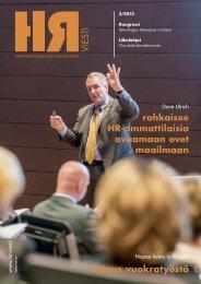 rohkaisee HR-ammattilaisia avaamaan ovet maailmaan - PubliCo Oy