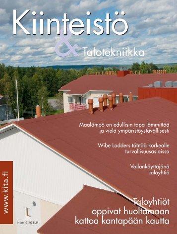 Taloyhtiöt oppivat huoltamaan kattoa kantapään kautta - PubliCo Oy