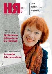 Optimismin johtaminen on tärkeää Tunteella ... - PubliCo Oy
